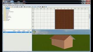 Sweet Home 3d Roof Tutorial Cara Membuat Atap (i)
