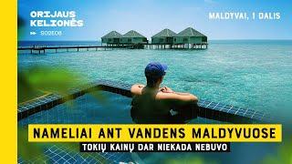 Orijaus Kelionės. 2 sezonas, 8 laida. Nameliai ant vandens Maldyvuose (Maldyvai, 1 dalis)