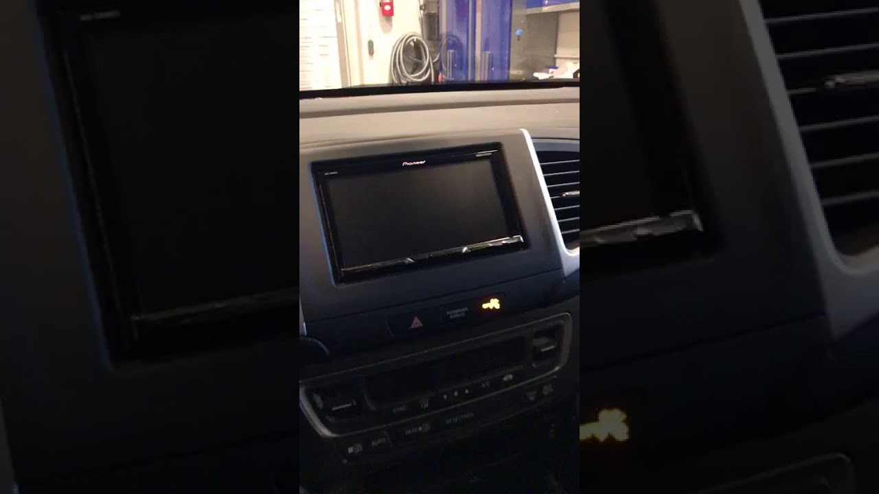 2017 Honda Ridgeline Radio Upgrade