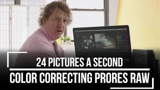 How To Edit ProRes Raw - 24 Pictures A Second
