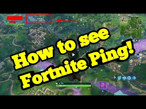how to see fortnite ping tutorial ps4 pc xbox ios - how to see ping in fortnite season 7