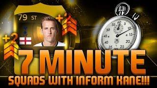 fifa 15 7 minute squads third inform kane fifa 15 hybrid squad builder feat tif harry kane