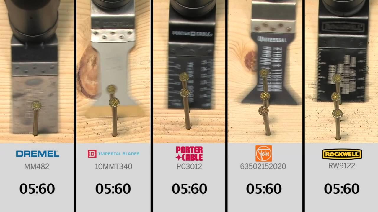 Cutting Nails The Dremel Mm482 Flush Cut Blade Vs The