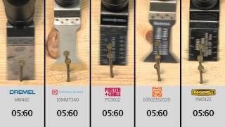 Cutting Nails: the Dremel MM482 Flush Cut Blade vs. the Competition