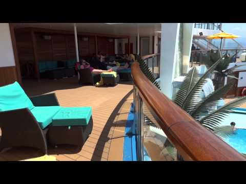 Carnival Sunshine Serenity Pool & Deck