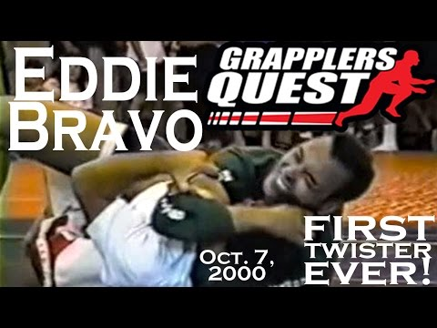 First TWISTER Submission Ever by EDDIE BRAVO (EBI 10th Planet Founder) at Grapplers Quest 2000