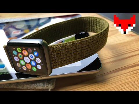 apple-watch-band-olive-flak-nike-sport-loop-[4k]