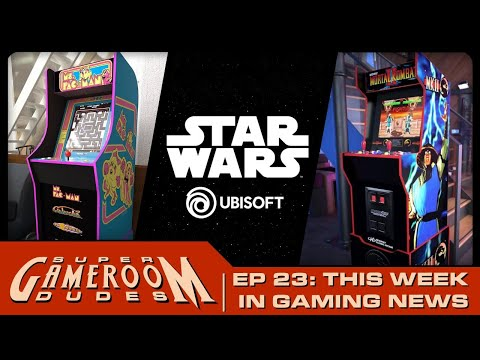 Arcade1Up Midway Legacy Cabinet, Firmwares are Fun & Star Wars Coming Soon from  Ubisoft & MORE! from MichaelBtheGameGenie