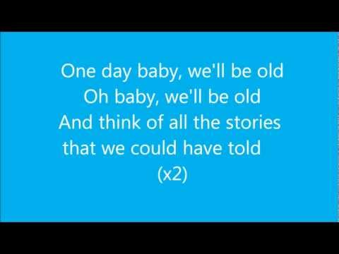 Asaf Avidan - One day  Reckoning Song (Wankelmut Remix) - Lyrics -