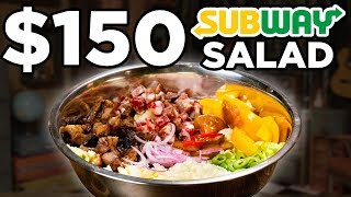 $150 Subway Salad Taste Test