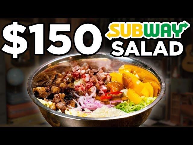 $150 Subway Salad Taste Test