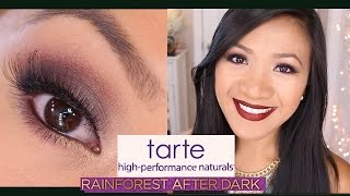 Tarte Rainforest After Dark Palette Review and Tutorial