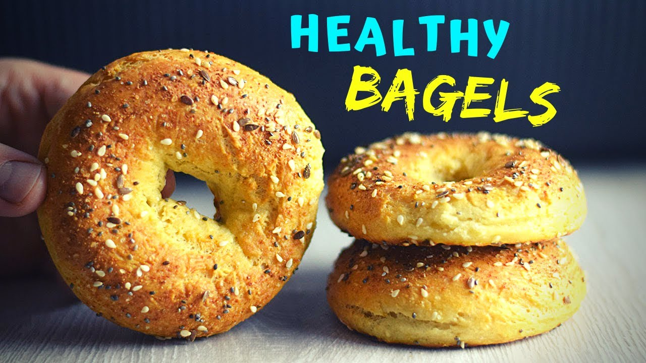 Healthy Bagels (QUICK NO YEAST! PERFECT FOR BREAKFAST!)