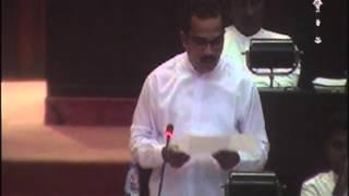 Bimal Rathnayake parliament speech on 14.12.2015