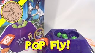 Pop Fly Game, Ideal Toys - The Harder the Throw the Higher the Fly!