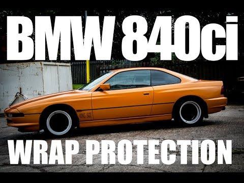 HYDROLEX Ceramic Sealant on BMW 840ci (full wrap protection)