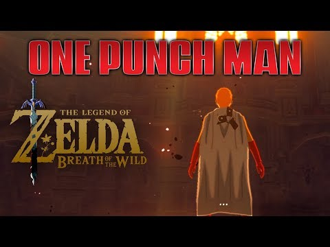 Zelda: Breath of the Wild  Saitama defeats Ganon
