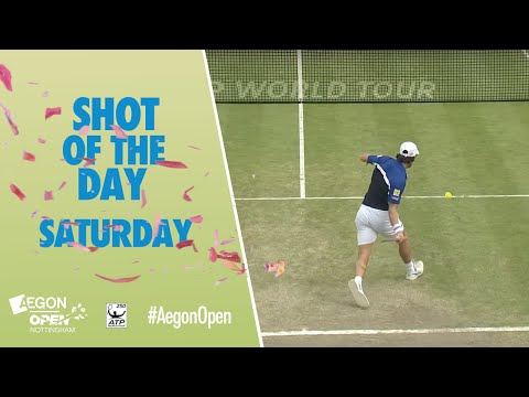 Aegon Open Nottingham Shot of the Day - Saturday 25th June