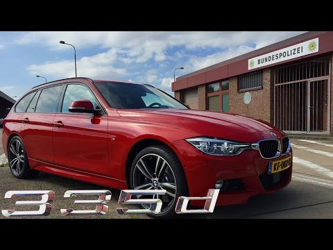 BMW 3 series 335d Touring 2017 Review Test Drive POV
