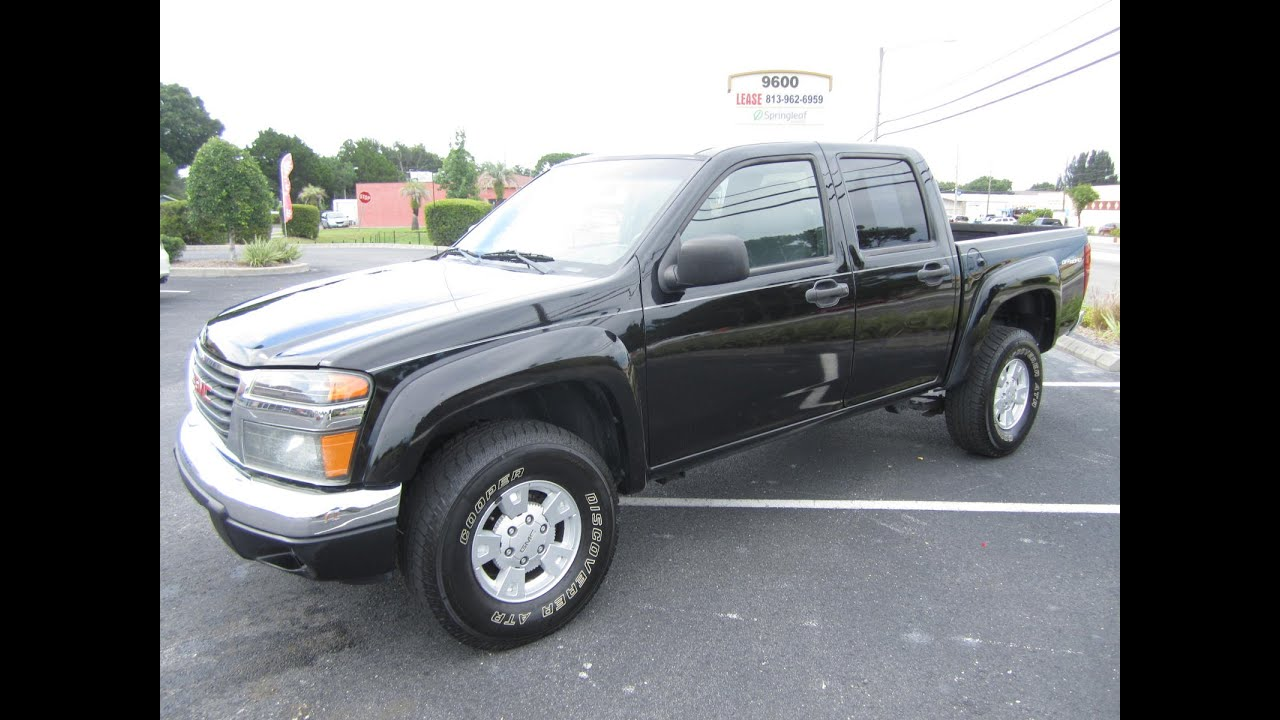 Sold 2006 gmc canyon sle crew cab off road meticulous motors inc florida for sale youtube