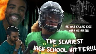 The Hardest Hitting High School Football Player I've Ever Seen!!! Fotu Leiato Highlights [Reaction] thumbnail