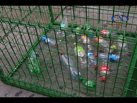 Instalan contenedores para reciclaje de botellas pl sticas - Contenedores de reciclar ...
