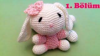 Amigurumi Örgü Oyuncak Tavşan Yapımı - 1