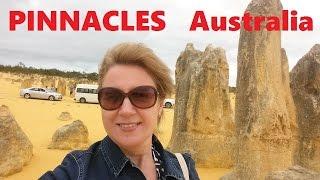ЗАГАДКА АВСТРАЛИИ   ПИНАКЛЫ  PINNACLES AUSTRALIA