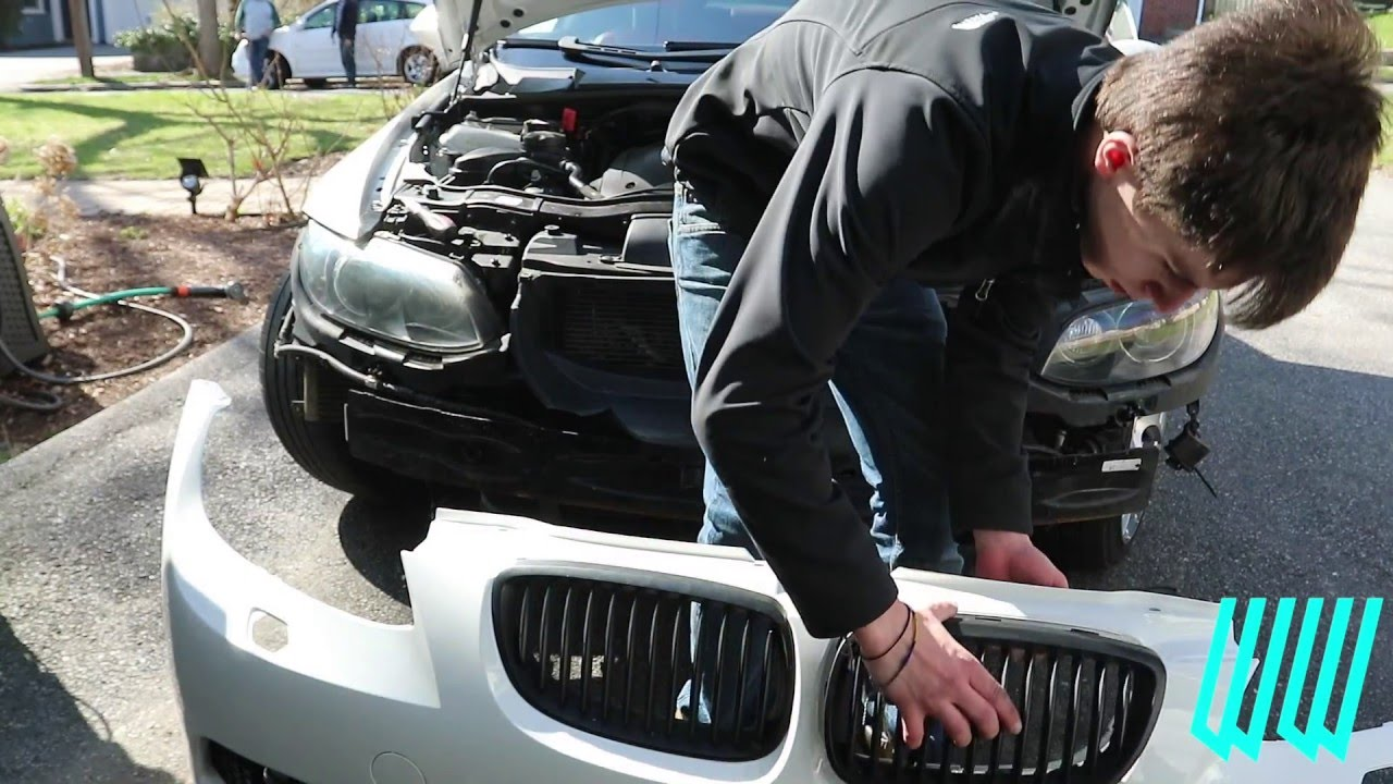 How To Install A Bmw E92 M3 Style Bumper On Your 335i 328i 330i