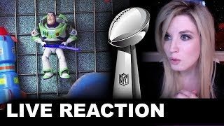 Toy Story 4 Super Bowl TV Spot REACTION
