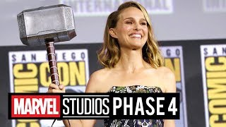 Marvel Studios PHASE 4 Comic-Con PANEL (2019) Thor 4, Loki
