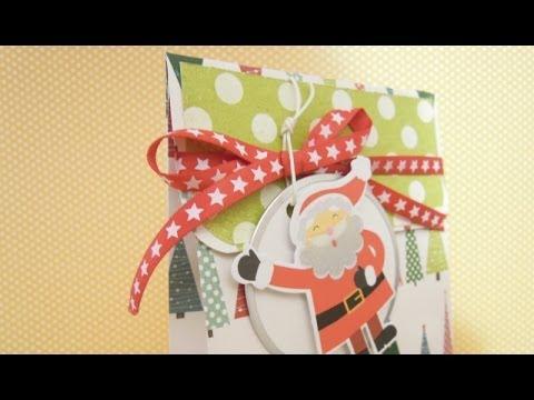 C mo hacer una bolsa de papel para regalo dn8 2013 youtube - Hacer bolsas de papel para regalo ...