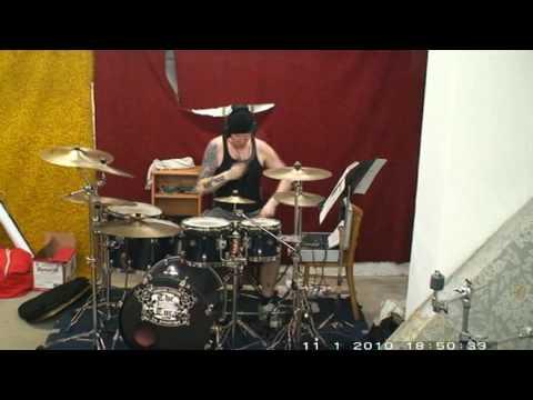 Martin Svec - Ties That Bind - ALTER BRIDGE (Drum cover 2010)