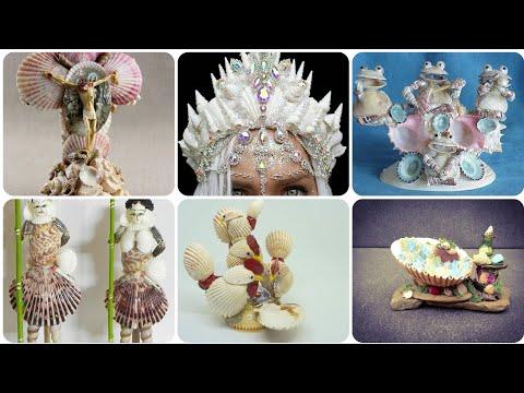 Seashells Art/seashells Craft/seashells Home Decor Super Idea