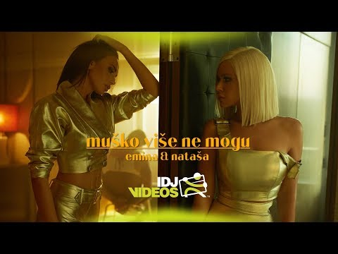 Смотреть клип Emina & Natasa Bekvalac - Musko Vise Ne Mogu