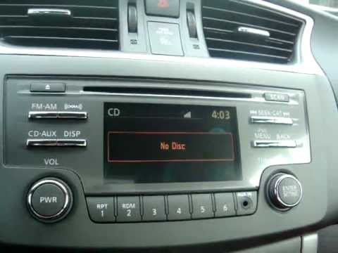 2013 Nissan Sentra audio system operation - YouTube