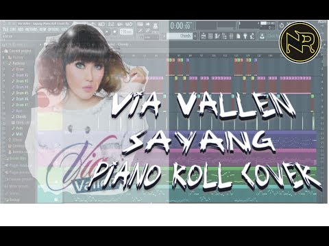 Via Vallen - Sayang (NR Cover Piano Roll) Free Download Flp