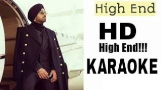 HIGH END KARAOKE INSTRUMENTAL DILJIT DOSHANJ | Latest Punjabi Songs karaoke