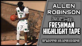 Allen Robinson | Freshman Year Highlight Tape | 2017-18 Season