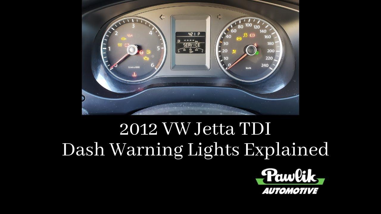 2012 vw jetta tdi, dash warning lights explained youtube 2012 Volkswagen Jetta Sedan TDI 2012 vw jetta tdi, dash warning lights explained