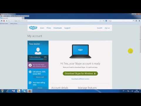 วิธีใช้ Skype เบื้องต้น