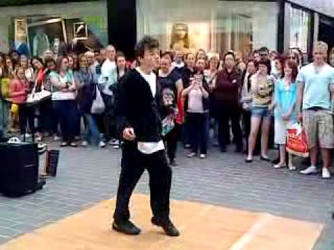 George Sampson Street dance 2 Pushing Buttons liverpool ...