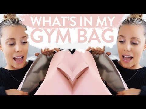 WHAT'S IN MY GYM BAG!? Beauty, Snacks & Essentials | Sarah's Day