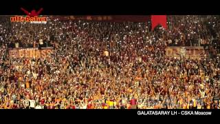 "TA Euroleague  | GALATASARAY LH - CSKA Moscow "" ultrAslan Tribünleri ! """