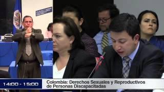 Audiencia CIDH: derechos sexuales y reproductivos de las personas con discapacidad en Colombia