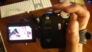 Panasonic 30gb Hard Drive Camcorder
