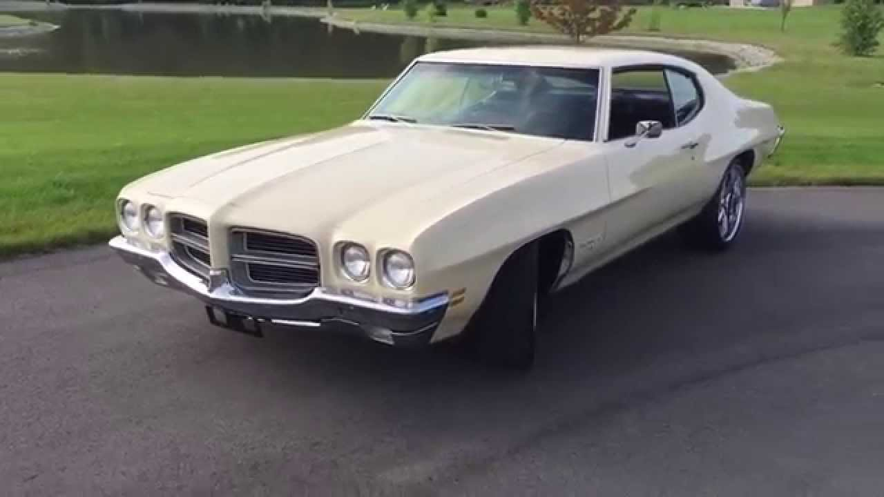 Meet The 1971 Pontiac Lemans T37 Pro Touring