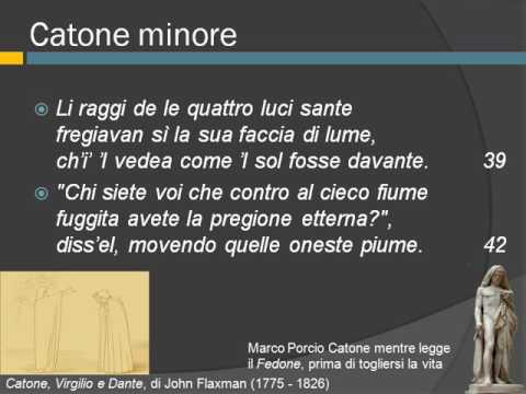 Purgatorio, Primo canto, vv. 34-136