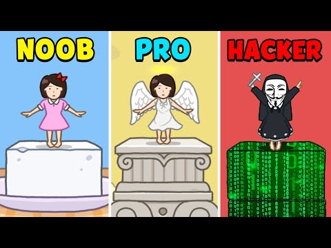 NOOB Vs PRO Vs HACKER - Tofu Girl
