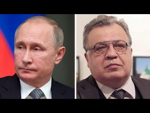 Putin responds to killing of Russia's ambassador to Turkey